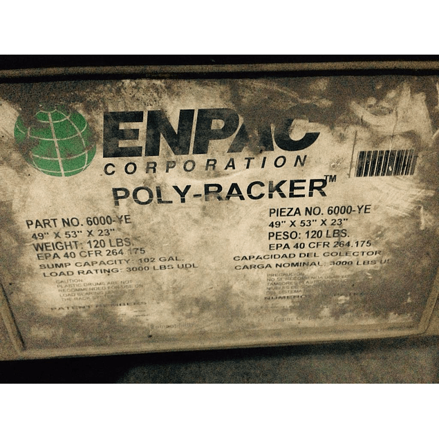 Poly-Racker MCA. ENPAC Corporation