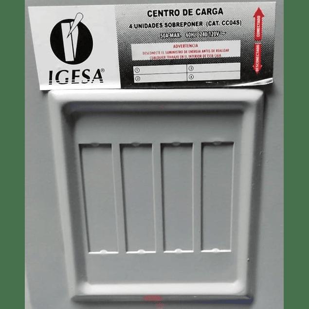 Centro De Carga MOD. CC04S