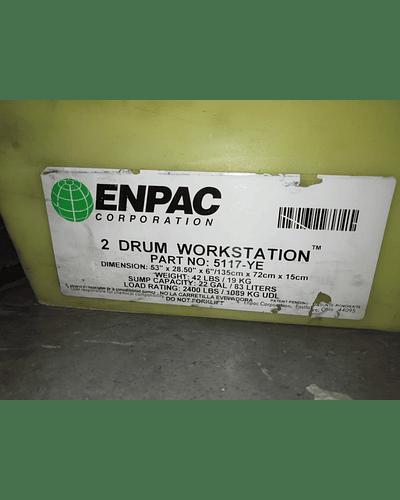 Estación de trabajo de 2 tambores MCA. ENPAC Corporation