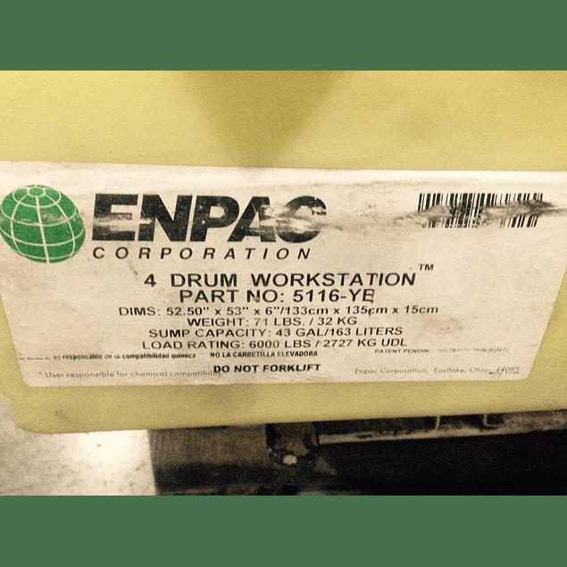 Estación de trabajo de 4 tambores MCA. ENPAC Corporation