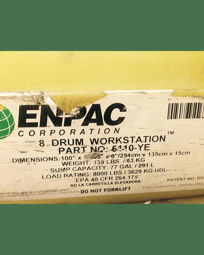 Estación de trabajo de 8 tambores MCA. ENPAC Corporation