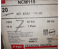 INTERRUPTOR TERMOMAGNETICO STAB-LOCK NCM115 MCA. FEDERAL PACIFIC