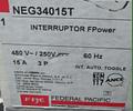 Interruptor Termomagnetico MOD. NEG34015T MCA. FEDERAL PACIFIC