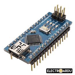 Placa Arduino Nano V3 ATmega328p-AU