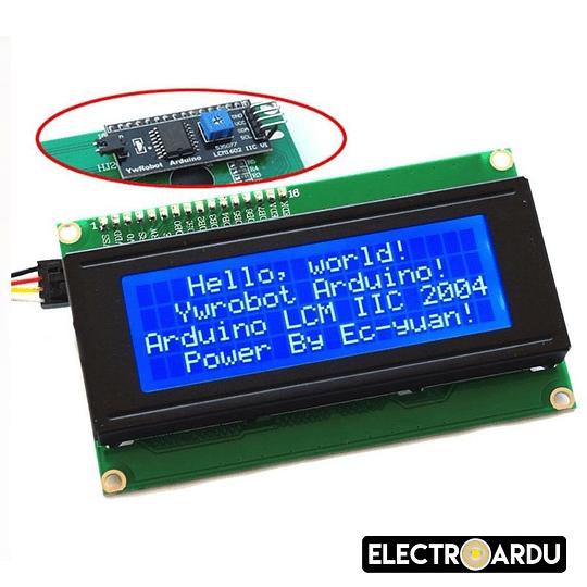 LCD 2004A 20x4 Azul 5V Module SPLC780