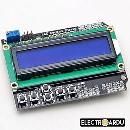 Shield LCD 1602 5 Botones