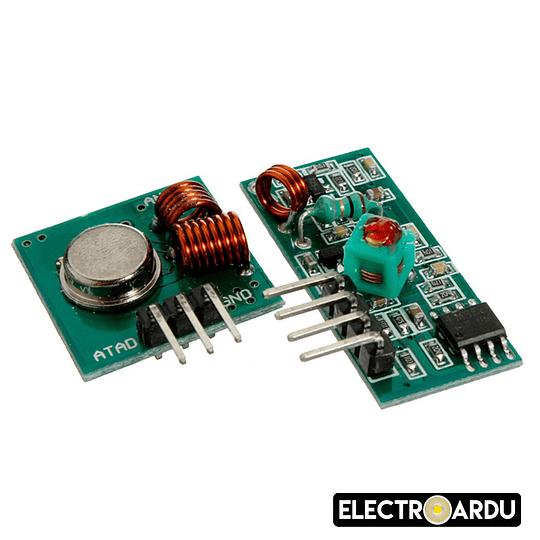 Modulo RF Transmisor y Receptor 433Mhz