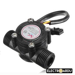 Sensor Flujo de Agua YF-S201 1/2