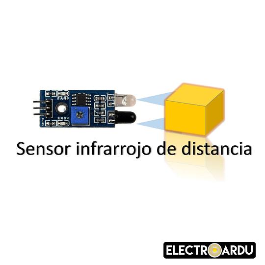 Sensor Infrarrojo Evasor de Obstaculos