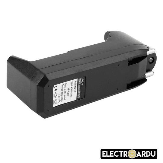 Cargador Simple Baterias 18650 Indicador LED