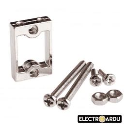 Soporte Aluminio para Motor + Caja Gear