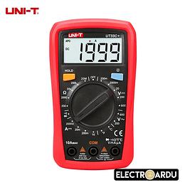 Multimetro Digital UNI-T UT33C+