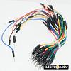 Pack 65 Cables Dupont Macho a Macho Diferentes Medidas