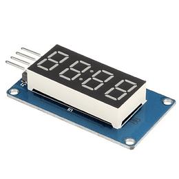 Modulo Display 7 Segmentos 4 Dígitos TM1637