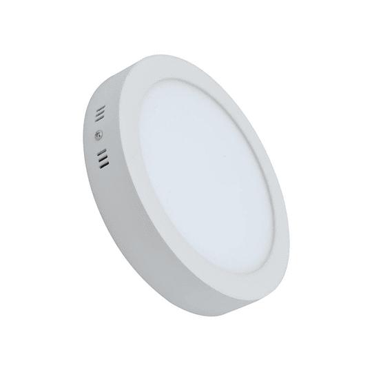 Panel LED 18w Sobrepuesto Frio