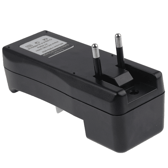 Cargador Doble Baterias 18650 Indicador LED