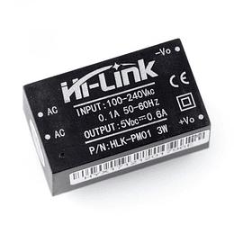 Mini Conversor AC - DC Fuente Poder 5v 3w Hi-Link