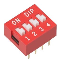 Dip Switch Interruptor 4 Posiciones