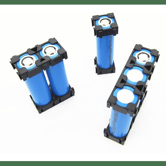 Espaciador Separador Baterias 18650