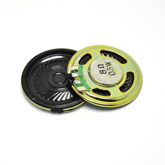 Mini Parlante Altavoz 8 Ohms 0.5w 40mm