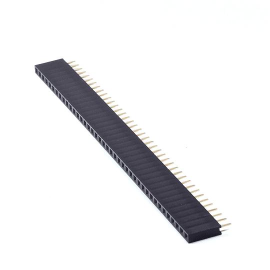 Pin Header 2.54 mm 1*40 Pin Hembra