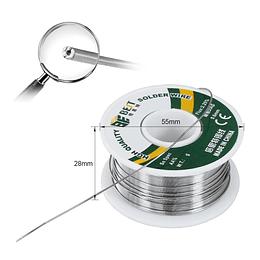 Soldadura Electrónica Estaño 1.0mm 0.5mm 0.3mm 100g