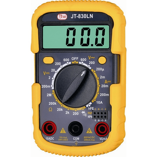 Multímetro Digital 830LN