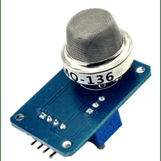 Sensor Gas Hidrógeno MQ-136 Concentraciòn 1 ~ 100ppm