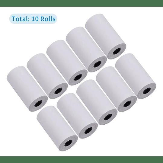 Impresora 58mm Bluetooth Boleta Electrónica + 10 Rollos
