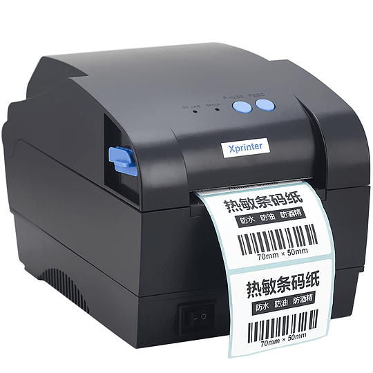 Impresora Xprinter Etiquetas Codigo Barra 20-80mm Xp-365b