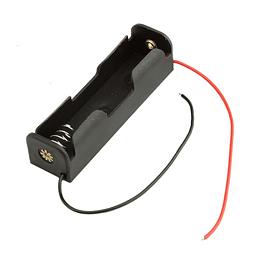 Porta Bateria Simple 18650