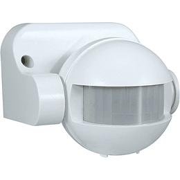 Sensor de Movimiento PIR 220v Blanco