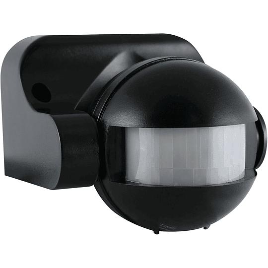 Sensor de Movimiento PIR 220v Negro