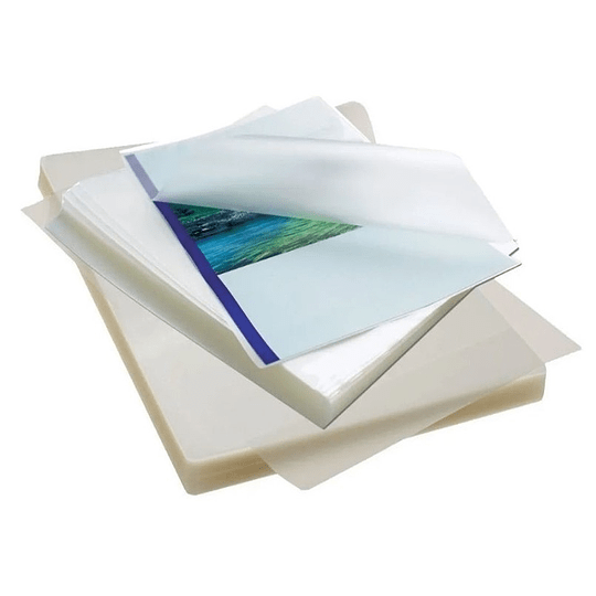 100 Micas Láminas Termolaminado Plastificar Carta