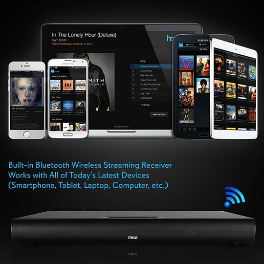 Soundbar Bluetooth Pyle PSVB600BT