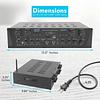Receiver Pyle PTA44BT.5 ,4 canales, 500 watts, Bluetooth