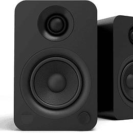 Parlantes Activos Kanto YU con Bluetooth 4.2 y entrada RCA Negro Mate