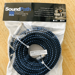 Cable Svs Subwoofer, Co Axial 5 Metros, Soundpath Rca Audio