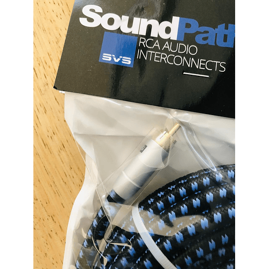 Cable Svs Subwoofer, Co Axial 8 Metros, Soundpath Rca Audio