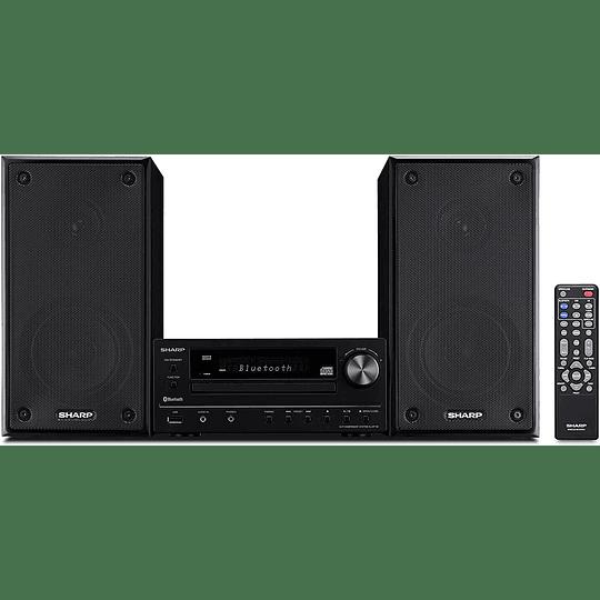 Sharp xl-hf102b Sistema de Altavoces Hi-Fi Radio, CD Player, Bluetooth