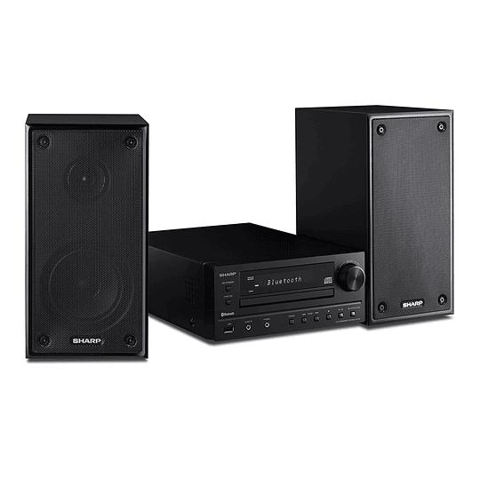 Sharp xl-hf203b Sistema de Altavoces Hi-Fi Radio, CD Player, Bluetooth