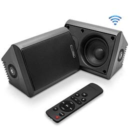 Parlantes Bluetooth Indoor-Outdoor Pyle PDWR66IFBBK
