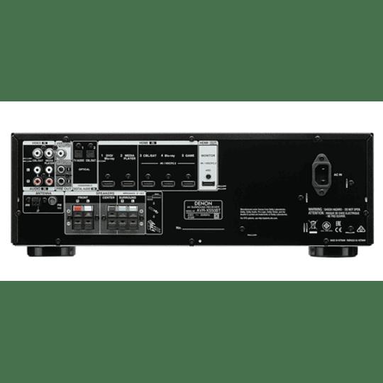 Receiver DENON AVR X550 BT  AV 5.2 con Bluetooh.