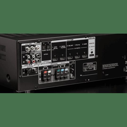 Receiver DENON AVR X550 BT  AV 5.2