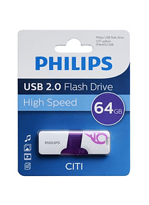 Pendrive Philips 64 Gb.