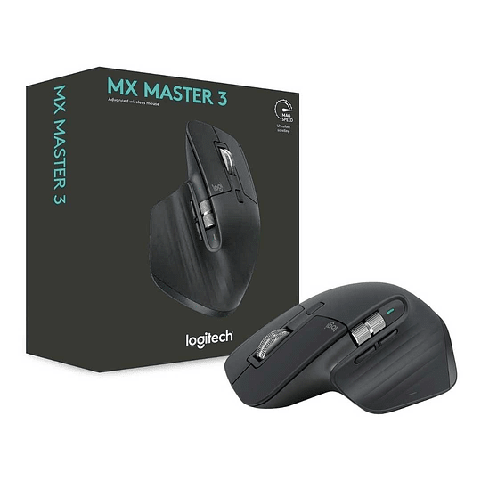 Mouse Inalámbrico Logitech Mx Master 3