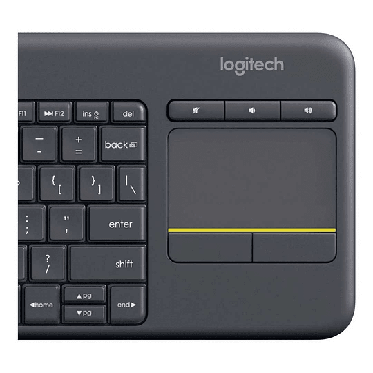 Teclado para Smart TV Logitech K400 Plus Tv