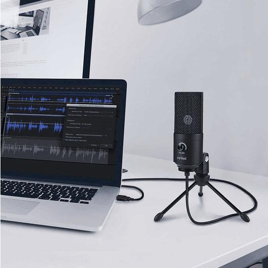 Microfono Fifine Usb K669b