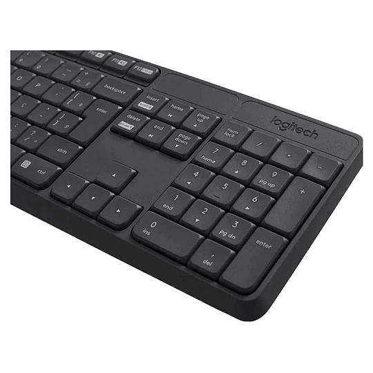 Kit Teclado + Mouse Inalámbrico MK235