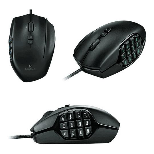 Mouse Gamer Usb G600 8.200 DPI